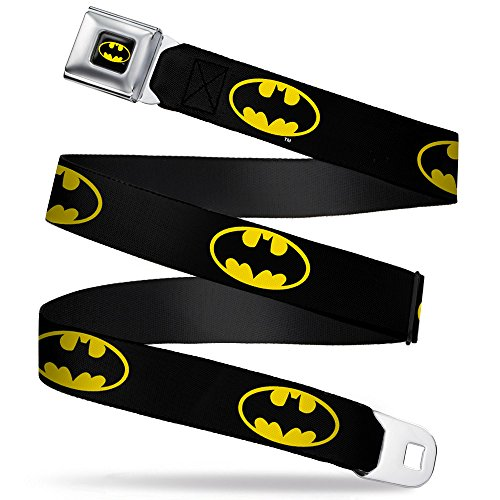 Buckle-Down Seatbelt Belt Batman XL