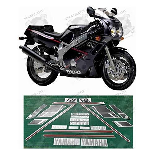 Stickers Decals kompatibel für Yamaha FZR 600 Jahr 1989 Originalgröße