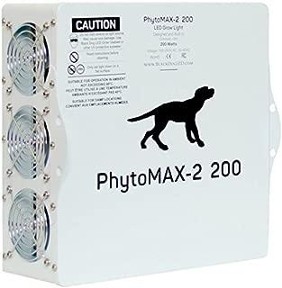 LED Grow Lights | Black Dog LED PhytoMAX-2 200 | High Yield Full Spectrum Indoor Grow Light with Bonus Quick Start Guide
