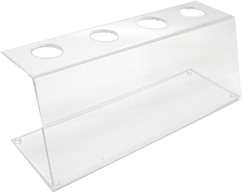 Mirart Clear Acrylic Four Cone Holder