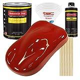 Restoration Shop - Candy Apple Red Acrylic Enamel Auto Paint - Complete Gallon Paint Kit - Professional Single Stage High Gloss Automotive, Car, Truck, Equipment Coating, 8:1 Mix Ratio, 2.8 VOC