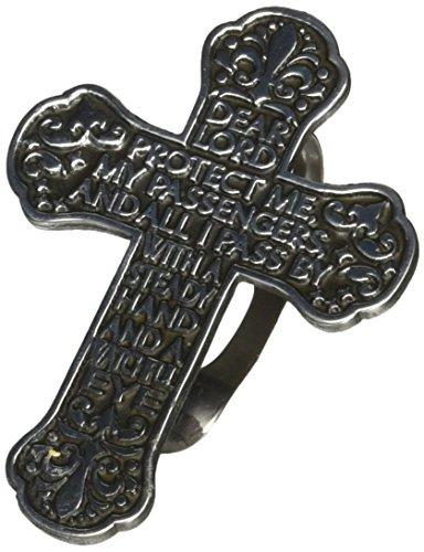 Cathedral Art (Abbey & CA Gift Traveler's Sun Visor Clip, Travelor's Prayer Cross