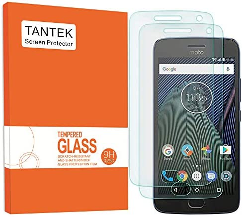 TANTEK 2 Pack Screen Protector for Motorola Moto G5 Plus MOTO G Plus 5th Generation Tempered product image