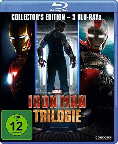 Iron Man - Trilogie [Blu-ray] [Collector's Edition]