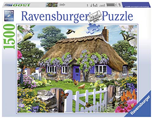 Ravensburger Puzzle 16297 - Cottage in England - 1500 Teile