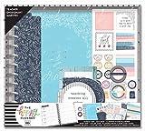 Me & My Big Ideas BOX213 Happy 12-Month Dated Big Planner Box Kit-Never Be Erased, Teachr, Aug2019-Jul2020