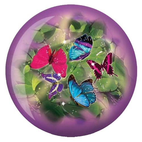 Butterflies Glow Viz-A-Ball Bowling Ball by Brunswick
