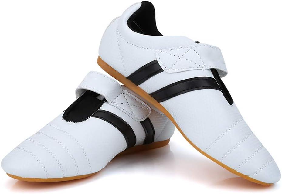 Zapatos de Taekwondo Zapatillas de Artes Marciales Zapatillas Deportivas Ligeras para Boxeo Karate Kung Fu Tai Chi Entrenamiento