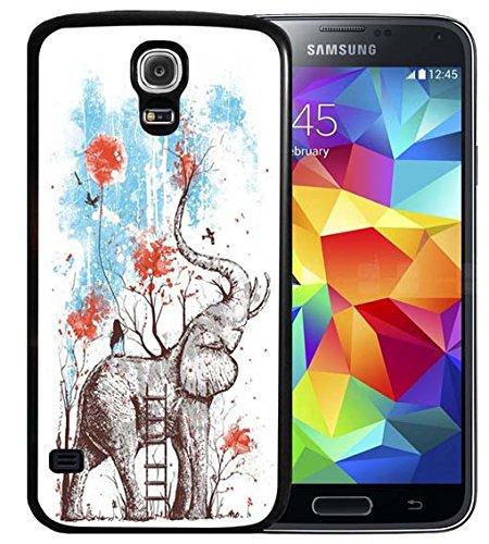 Carcasa para Samsung Galaxy S4 (TPU), diseño de calavera, color negro