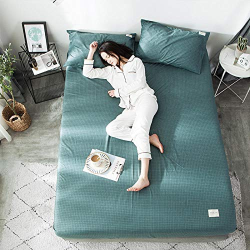 GTWOZNB Bed Sheets Polyester Cotton Blend Soft and Cotton bed sheet simple-14_150*200cm