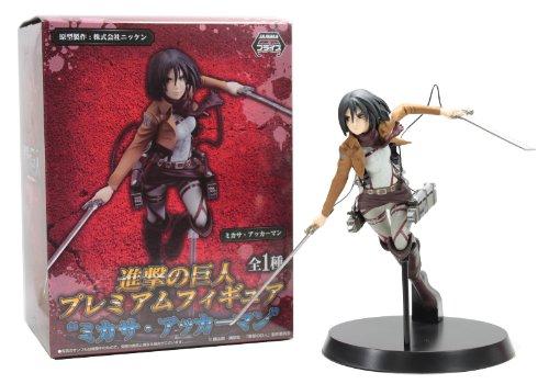 """SEGA Attack on Titan 7"""" Mikasa Figure"""