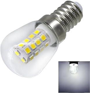 照明ランプ LED 2W E14 冷蔵庫LED電球 AC220V 明るい屋内ランプ 冷蔵庫 冷凍庫クリスタルシャンデリア照明用 LEDライト (サイズ : 暖かい白)