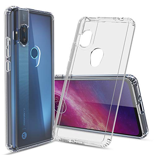 Cbus Wireless Clear Hard Case Cover for Motorola One Hyper — Drop Tested Protection