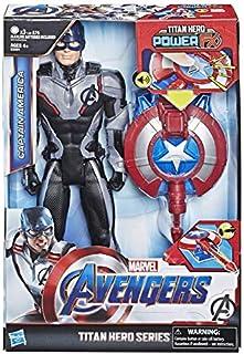 comprar comparacion Avengers Titan Hero FX Capitán América (Hasbro E3301105)