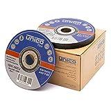 50 pcs disco de corte de diámetro 125 x 1 mm Inox de acero inoxidable extra fino Flex Disco