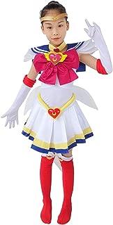 DAZCOS Kids Size Girls SuperS Usagi Tsukino Fighting Cosplay Costume Sailor Dress