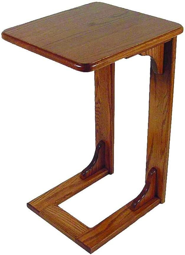 Oak Over The Arm Sofa Table Mad Furniture OFFicial store -Living - Amish Credence Room