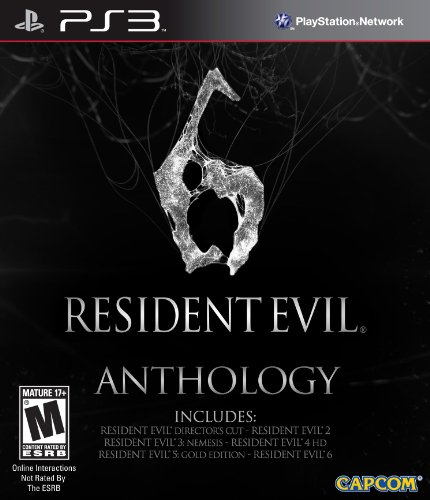 Capcom Resident Evil 6 Anthology, PS3
