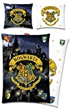 Harry Potter Wende-Bettwäsche Hogwarts 135 x 200 + 80 x 80