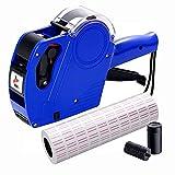 MX 5500 - Etiquetadora de precios (5000 etiquetas, 2 rellenos de tinta, para uso en oficinas, minoristas, tiendas, tiendas, tiendas, tiendas, tiendas, tiendas, tiendas de alimentos, etiquetado (azul)
