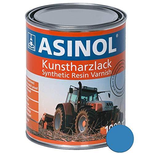 ASINOL RAL 5012 lichtblau hochglänzend 1 Liter, 1.000ml Kunstharzlack
