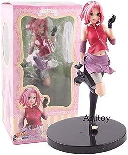Skwenp Sakura Naruto Shippuden Figure Naruto Gals Sakura Haruno Girls PVC Action Figure Collectible Model Toy 22cm