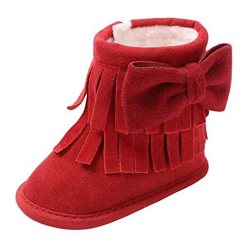 Botas Bebe Invierno,❤️ Amlaiworld Zapatos Cuna Suave Bebé Niños Niñas Primeros Pasos...