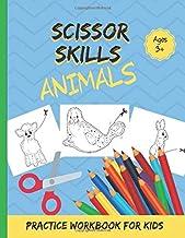 Scissor Skills: Animals Practice Workbook for Kids