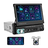 Best Apple Stereo For Car With Backup Camera - Camecho 7 Inch Car Stereo, Single Din Car Review