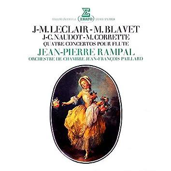 Leclair, Blavet, Naudot & Corrette: Quatre concertos pour flûte