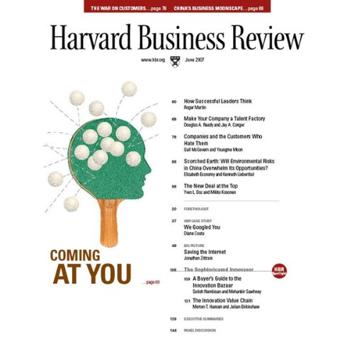 Harvard Business Review, June 2007 audiobook cover art