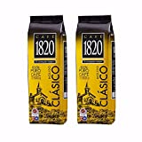 Cafe 1820 Ground  Costa Rican Gourmet Coffee  17.5oz (Pack of 2)