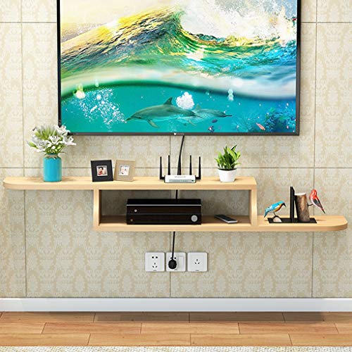 TV meubel Moderne Kabinet van TV Wall Mounted Media Console Audio-Video Shelf Floating TV Recreatiecentra Set Top Box Cable Box Legvlakken (Color : D, Size : 120cm)