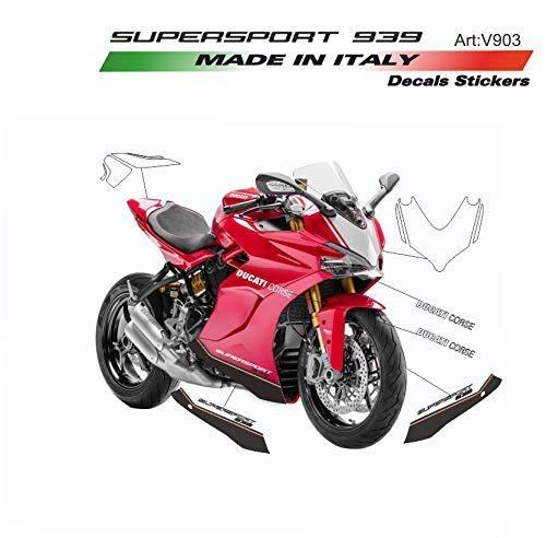 Vulturbike Sticker Set Exklusiv Für Ducati Supersport 939