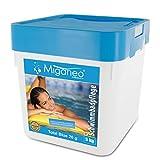 Miganeo® 5kg Total Blue Tabs 20g 5in1 Multitabs chlor für Pool Schwimmbad Chlortabs Ph Minus...