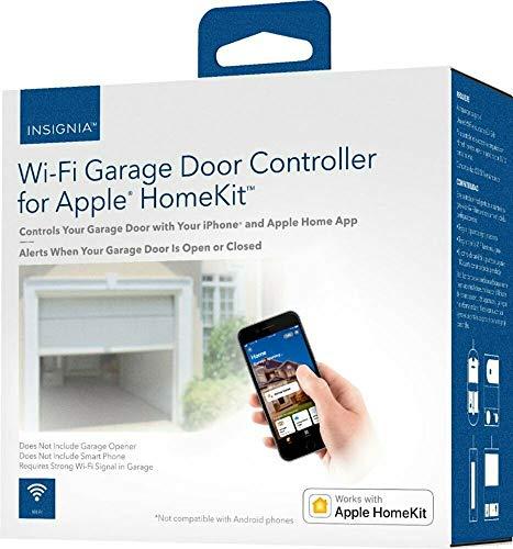 Controlador de Puerta de Garaje Insignia Wi-Fi para Apple HomeKit