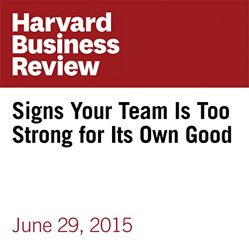 Signs Your Team Is Too Strong for Its Own Good audiobook cover art