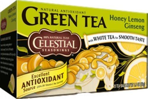 Celestial lowest price Seasonings Green Tea Honey White with Te Ginseng Wholesale Lemon