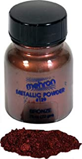 Mehron Glitter Powders - Metallic Bronze B (0.75 oz/21 gm)