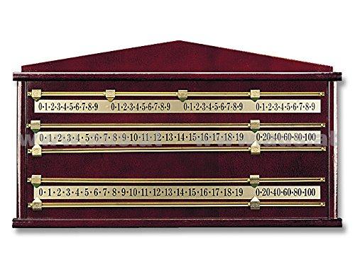 Unbekannt Zähltafel für Snooker