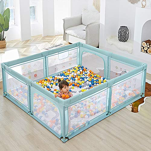 Baby Play Pen Kids Safety Activity Center, Indoor Outdoor Toddler Fence With Breathable Mesh Extra Large Play Yard For Boys Girls Babies (Size : 120 * 120 * 68CM)