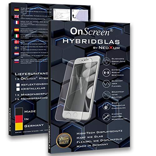 OnScreen Hybridglas für Wileyfox Swift 2X, Bildschirmschutz Anti-Reflex MATT Entspiegelnd, Hoher Festigkeitgrad, Schutz vor Kratzer, Folie, Schutzfolie, Bildschirmschutzfolie, Panzerglas-Folie