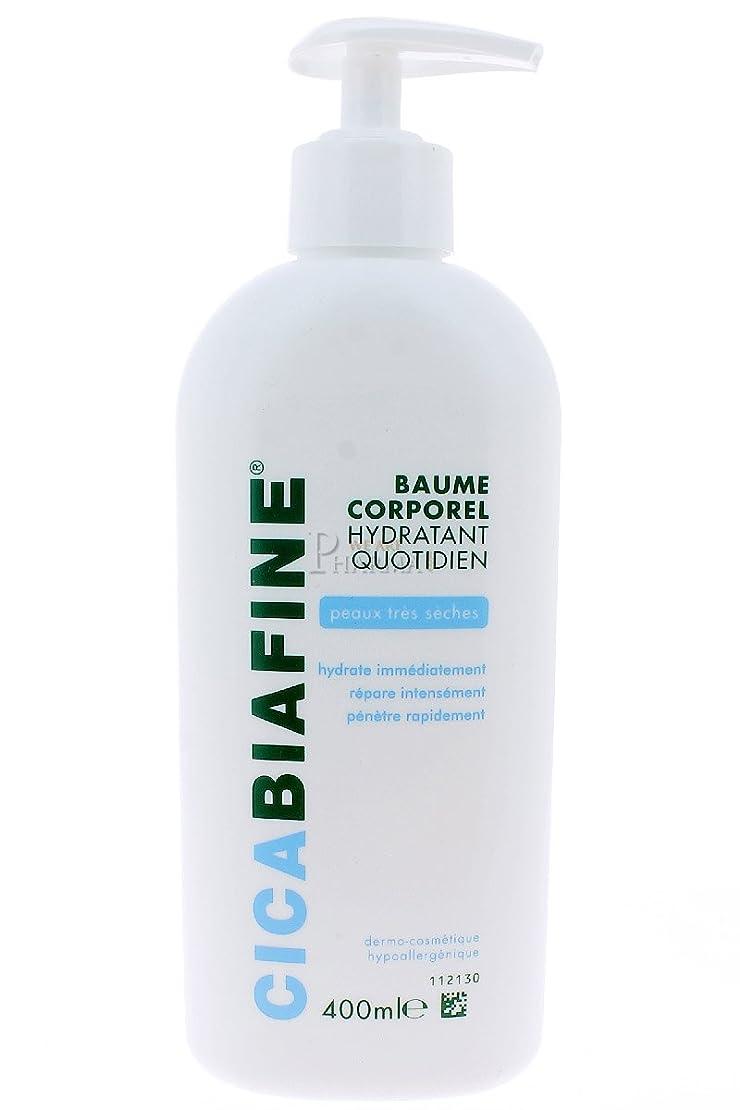 発行むき出しパケットCICABIAFINE Baume Hydratant Corporel Quotidien Peaux Tr鑚 S鐵hes (400 ml)