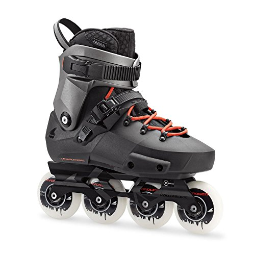 Pattini Twister Edge X Rollerblade, nero/grigio metallizzato, 38