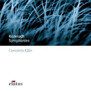 Kozeluch : 3 Symphonies  -  Elatus