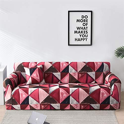 Fácil de Instalar y cómodo Cubierta de sofá. Cubierta de sofá, Sofá Floral Fundas para Sala de Estar Elastic Funda Sofá Sofá Sofá Sofá Sofá Toalla Couch Funda Fundas Sofás con Chaise Longue 1pc