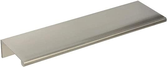 #3306-6 in. CKP Brand Back Mount Finger Pull, Brushed Nickel - 10 Pack