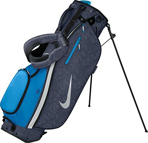 Nike Sport Lite Carry II Golf Bag BG0403-404 (Dark Obsidian/Silver/Blue)