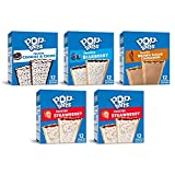 Pop-Tarts Breakfast Toaster Pastries, Variety Pack (60Count), 5Count