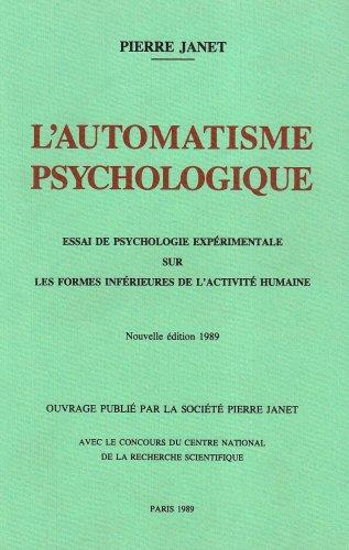 L'automatisme psychologique: POD